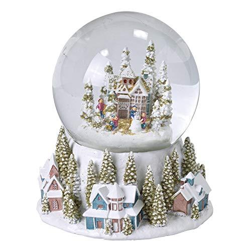 SPICE OF LIFE(スパイス) クリスマス パステルスノードーム ヴィレッジ Lサイズ 直径14.5cm GBXK3943