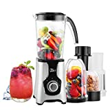 Uten Blender, Multi-Functional Smoothie Maker and Mixer for Juicers Fruit Vegetable 220W Automatic