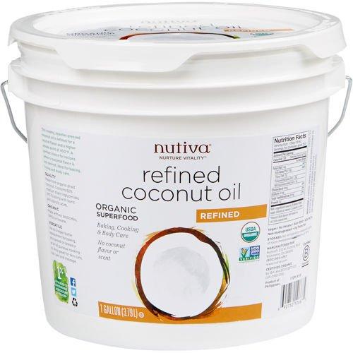 Nutiva Refined Coconut Oil  Gallon