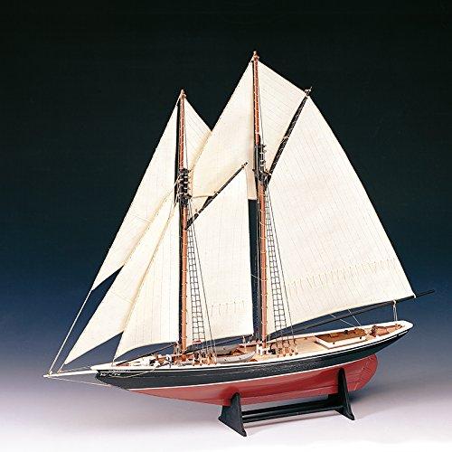 木製帆船模型 ブルーノーズ(60分の帆船模型製作入門DVD及び和訳付き)