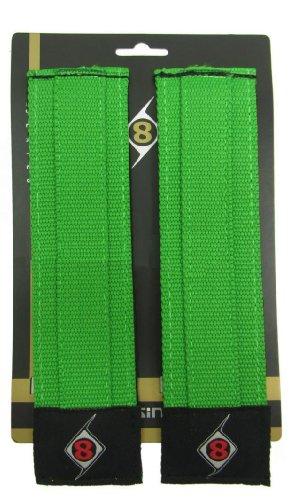 straps para bicileta piñón fijo origin8 pro grip II verde
