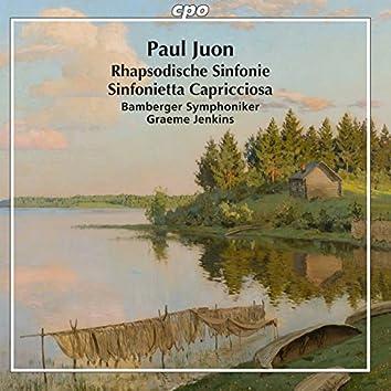 Juon: Rhapsodische Sinfonie, Op. 95 & Sinfonietta capricciosa, Op. 98