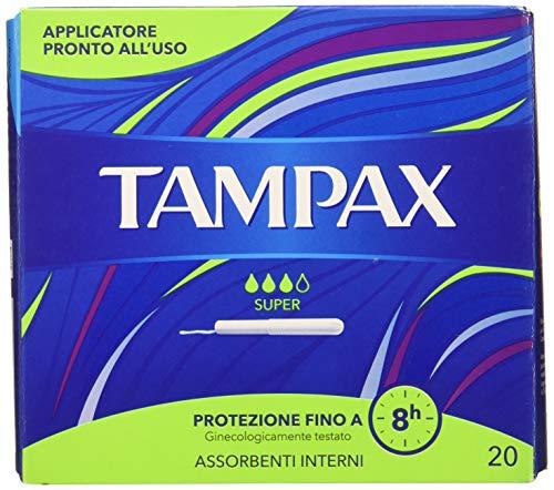 Tampax Super Tamponi Cuidado – 1200 g