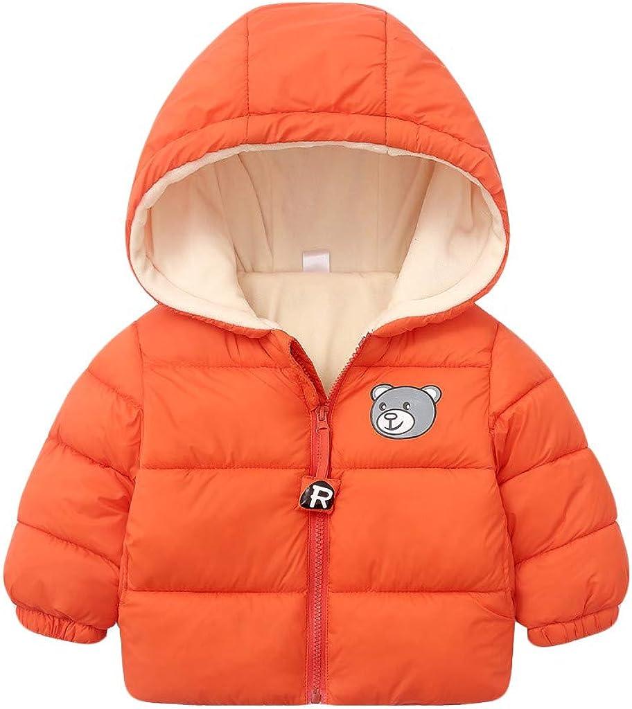 para oto/ño e invierno con terciopelo grueso TM - Abrigo de mezclilla para beb/é para beb/és y ni/ñas de 1 a 6 a/ños c/álido Fulltime