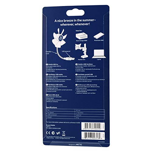 USB-Ventilator ARCTIC Breeze Mobile – 92 mm Bild 5*