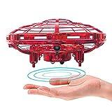 JIAMA Mini Drone pour Enfants ou Adultes, RC Flying Ball UFO Drone Jouet Hélicoptères avec lumière LED Drone Flying Jouets...