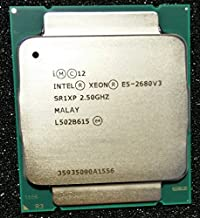 Intel Xeon E5-2680 v3 Twelve-Core Haswell Processor 2.5GHz 9.6GT//s 30MB LGA 2011-v3 CPU Oem CM806440 Renewed