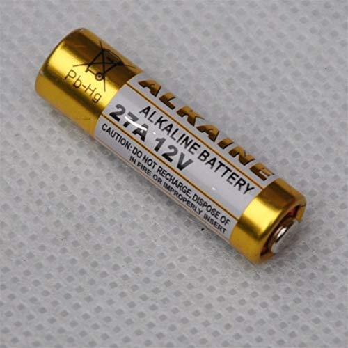 QianHaoQJu XW-Battery, 100pcs 27A 12V Batterie alcaline sèche 27AE 27mn A27 Sonnette, Alarme de Voiture, Walkman, Voiture télécommande etc (Size : 12V)