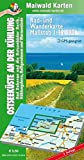 Bad Doberan = Rad- u. Wanderkarte - Ostsee an der Kühlung - Bad Doberan und die Ostseebäder Rerik, Kühlungsborn, Heiligendamm und Warnemünde: 1:30.000 ... - Maßstab 1:35.000 - GPS geeignet)