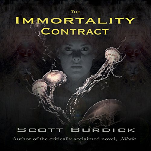 The Immortality Contract audiobook cover art