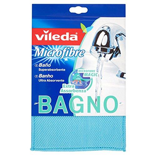 Vileda Badschwamm, extra saugfähig, ideal für die Badreinigung, blau