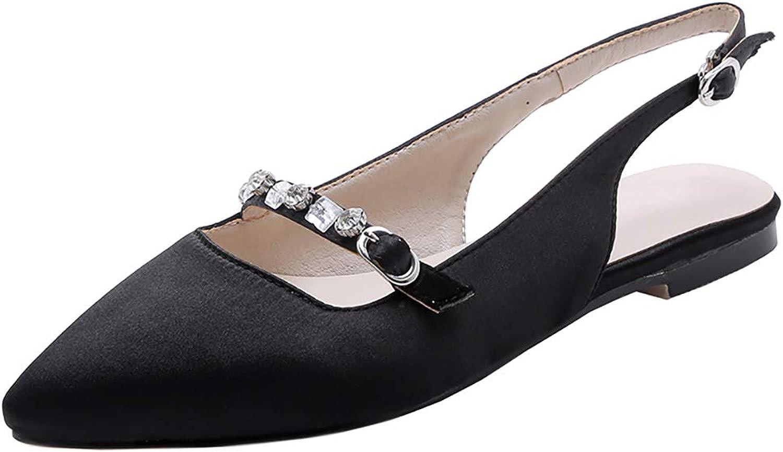 MisaKinsa Women Fashion Summer shoes Slip On Slingback Ballets