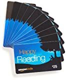 Amazon.com $25 Gift Cards, Pack of 10 (Amazon Kindle Card Design)