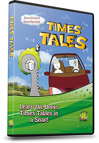 Times Tales DVD - Master The Multiplication Chart For Good!