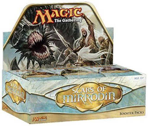 Magic The Gathering Scars of Mirrodin Booster Box Includes 36 Packs