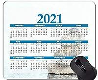 2021年カレンダーマウスパッド、石の宗教スピリチュアリティマウスパッド