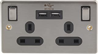 13 amp twin socket