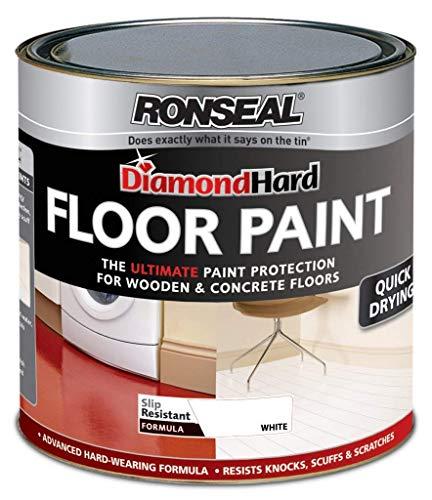 Ronseal Diamond Hard Floor Paint 750ml Wh