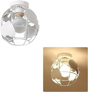 Globe - Pantalla para lámpara de techo diseño de mapa del mundo