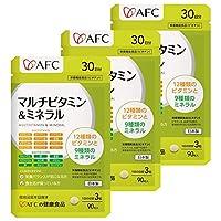 【AFC公式ショップ】マルチビタミン&ミネラル 30日分 3個セット