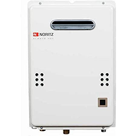 Noritz NR50ODNG Outdoor Tankless Water Heater, max. 120,000 Btuh, 5.0 Gpm - Natural Gas