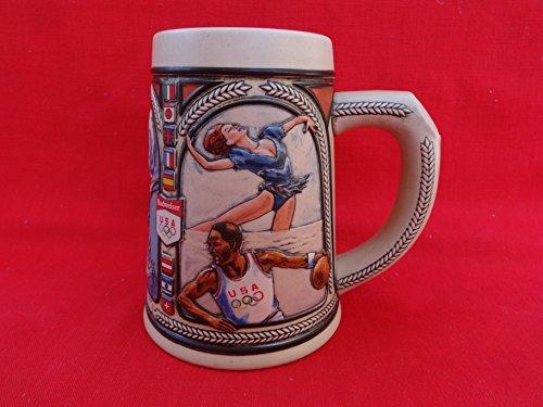 1992 Anheuser Busch Budweiser Olympics Olympic Team Stein Mug