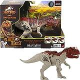 Jurassic World Ruge y Ataca Ceratosaurus Dinosaurio figura articulada de juguete con sonidos (Mattel GWD07)
