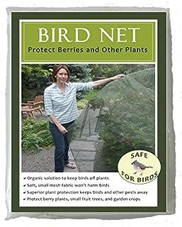 Bird Net for Plant Protection -Soft Mesh Fabric -Bird Friendly -5 feet by 10 feet