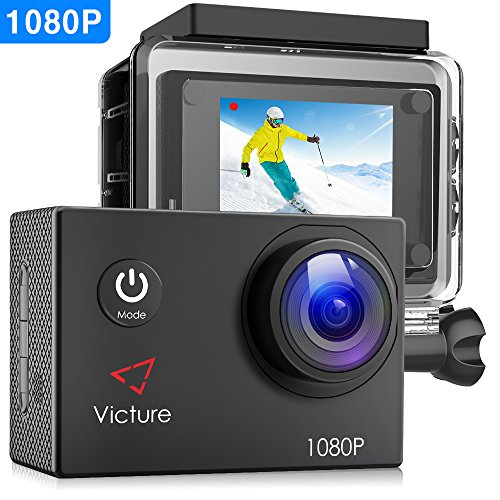 Victure Action Camera 4K WiFi Underwater Diving Camera 20MP Waterproof Sports Cam 170