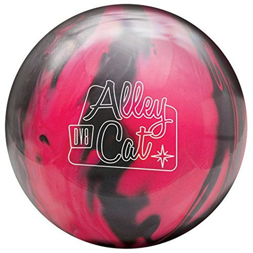DV8 Alley Cat Bowling Ball- Pink/Black, 11lbs
