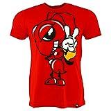 Pritelli 1833003/L Camiseta de la colección Marc Marquez 93Moto GP Large. Diseño con Imagen de Hormiga. Camiseta Oficial 2018, Color Rojo