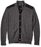Robert Graham Men's CREELMAN L/S Sweater, Charcoal, XXX-Large from Robert Graham