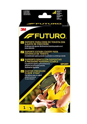 Futuro Soporte para codo de tenista con ajuste de precisión, ajustable 🔥