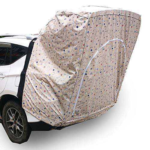 Dongbin Zelt für 2 Personen, Fahrzeug/Zelt, Einzelzelt sicheres Auto, atmungsaktiv DREI, dimensional, wasserdicht und feuchtigkeitsbeständig, leicht aufzutragen Geeignet für SUV-Modelle