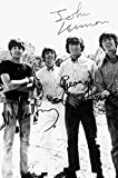 Signed The Beatles Photo Print (8 x 10)