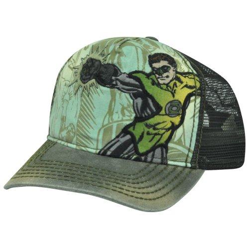 DC Comics The Green Lantern Adjustable Snap-back Baseball Hat