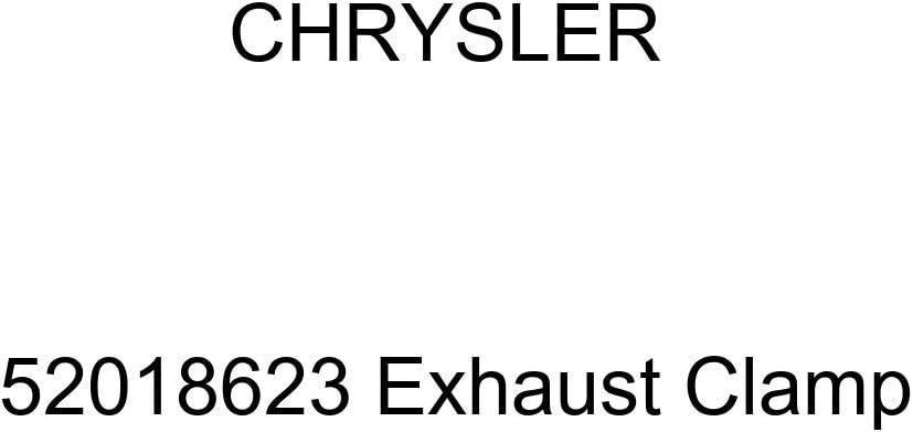 [Alternative dealer] Chrysler Genuine 52018623 Max 47% OFF Clamp Exhaust