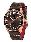 Elysee Bronze Herren Armbanduhr 98012 Sonnenschliff Automatik