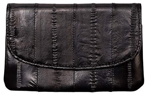 Becksöndergaard Damen Geldbörse Handy Black Schwarz | Handlich klein für Geld & Karten | Weich & strapazierfähig aus weichem Leder - 100002-010