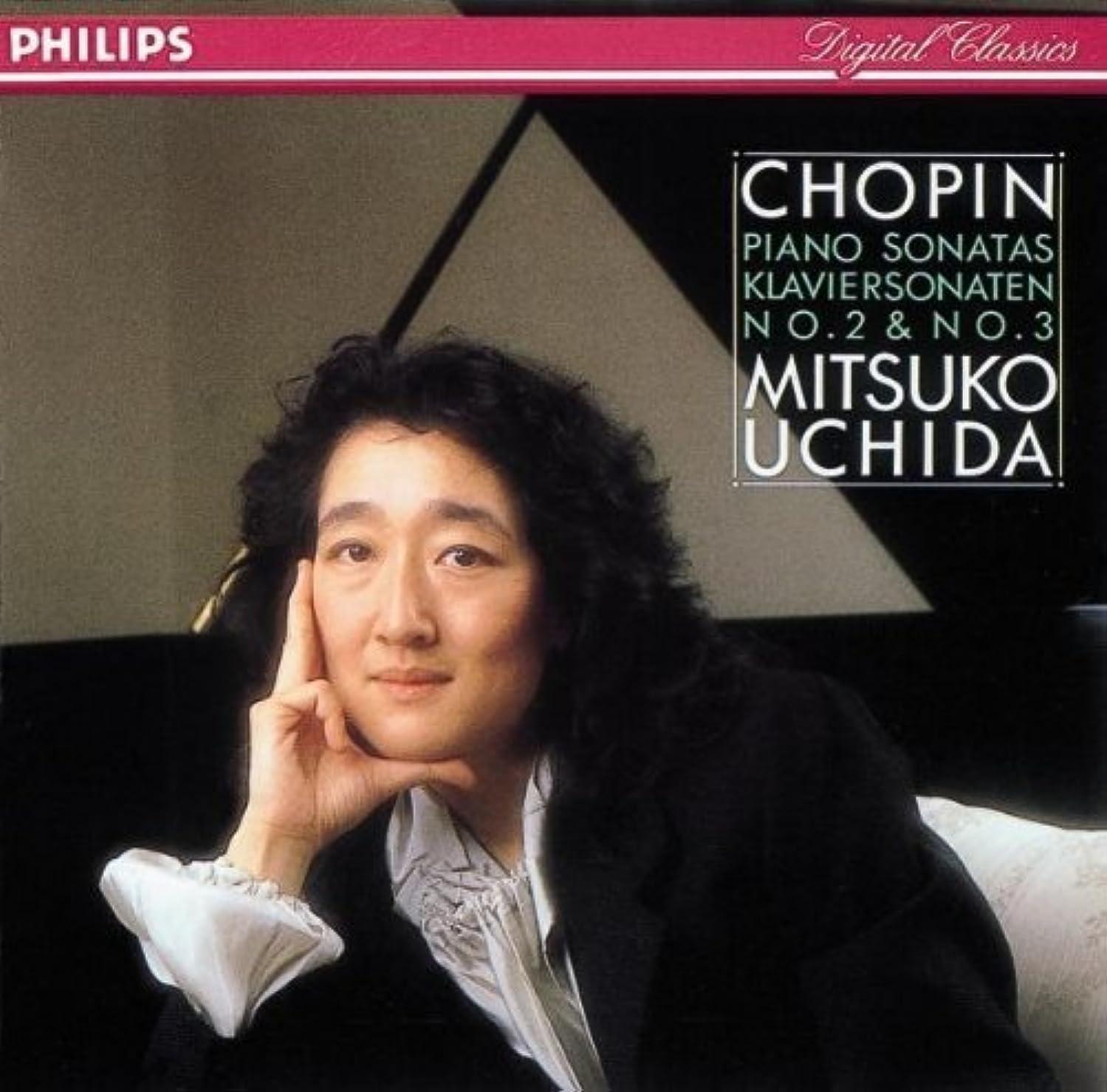 Chopin:Piano Sonatas 2 & 3 By Frederic Chopin (Composer),,Mitsuko Uchida (Performer) (1989-03-28)
