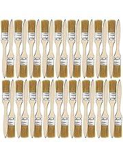 bobotron 36 verpakkingen met 1 inch (24 mm) kwast en chipkwast voor verfvlekken, laklijm en gesso