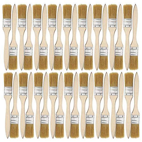 bobotron 36 Packung mit 1 Zoll (24 Mm) Pinsel und Chip Pinsel für Farb Flecken Lacke Kleber und Gesso