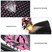 鋼のつま先を強化するための男性の安全靴のクッションの仕事の安全ブーツの仕事のブーツ(Camouflage powder, 37)
