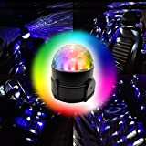 Amfor Multi Color 12V/6W LED Car Dj Atmosphere Lights Sound Actived Car Interior
