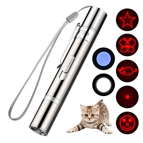 SLT Giocattoli di addestramento per Cani e Gatti, Giocattoli per Gatti per Esercizi di Cattura, Giocattolo interattivo con Illuminazione Tre in Uno per Kitten Dog (1PCS)
