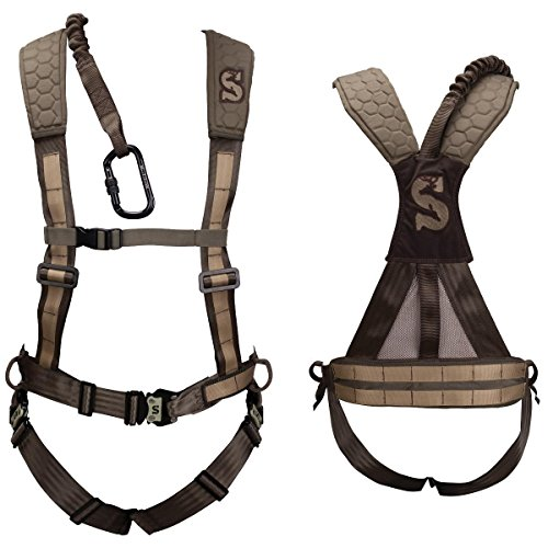 Summit Treestands Men's Pro Safety Harness, Large, Brown, Model: SU83082