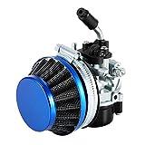 Yosoo Carburetor Air Filter, Motorized Bike Racing Carb Carburetor Air Filter 50 80 cc 2 Stroke Gas Bicycle