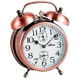 Atlanta - Campanaro Campana Sveglia Analogo Antico Metallo Rame - 1058-18