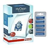 Véritables sacs à poussière efficaces GN HyClean 3D pour aspirateur Miele +...