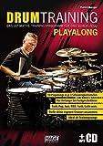 Drum Training Playalong + MP3-CD: Das ultimative Trainingsprogramm für das Schlagzeug - Patrick Metzger